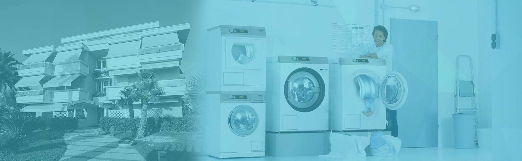Lavanderia economica ed ecologica per residence